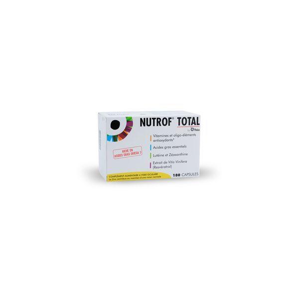 Achetez NUTROF TOTAL 180 CAPSULES moins cher