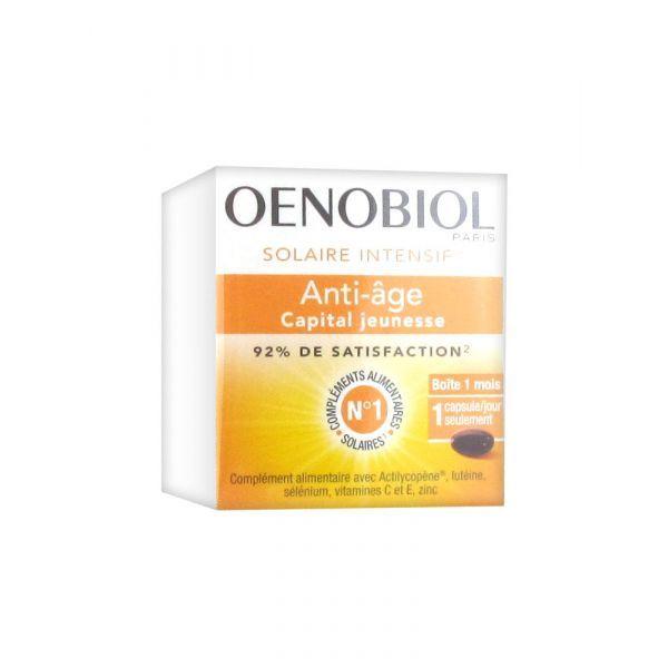 Solaire Intensif Anti-âge 30 capsules au meilleur prix| Oenobiol