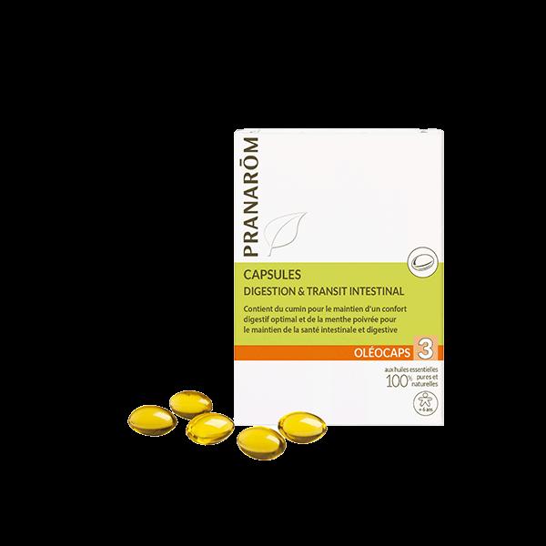Pranarom capsules digestion et défenses naturelles