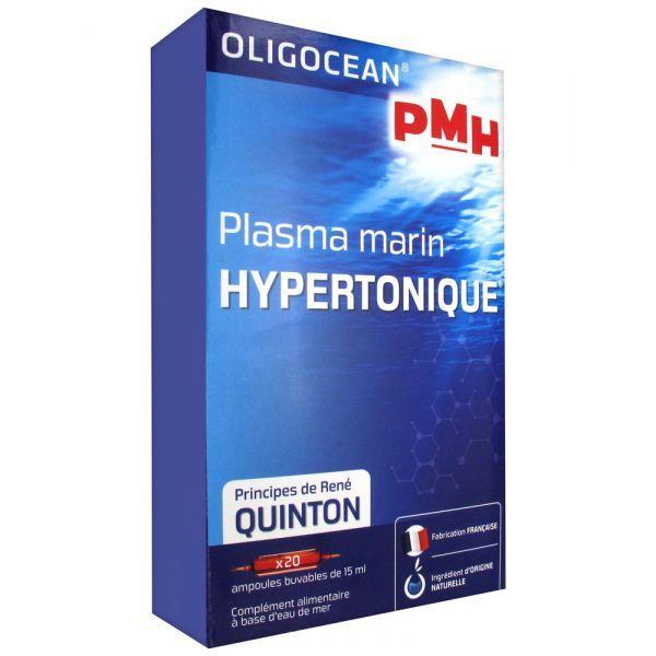 Plasma Marin Hypertonique 20 ampoules à prix discount  Super Diet