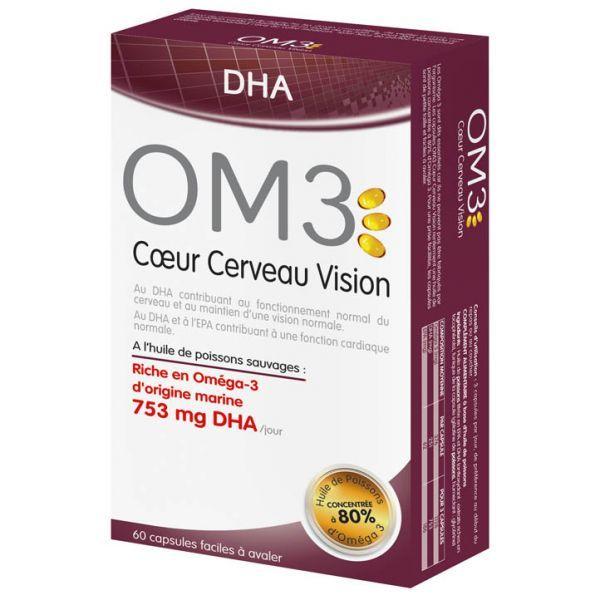 Coeur Cerveau Vision 60 Gélules au meilleur prix| OM3