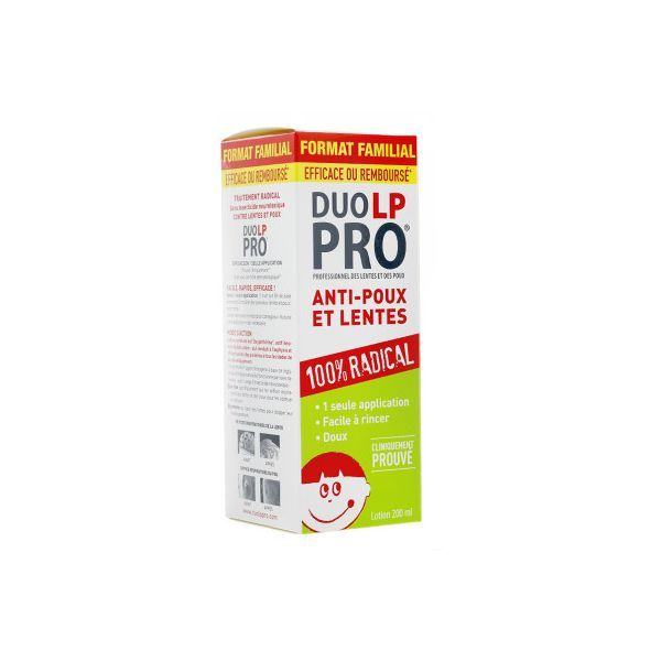 Anti-Poux et Lentes Lotion 150ml au meilleur prix| Duo LP-PRO