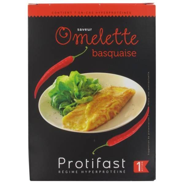 Omelette Basquaise 7 Sachets au meilleur prix  Protifast