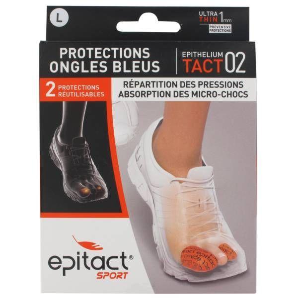 Sport Protections Ongles bleus Taille L 2 pièces à prix discount| Epitact