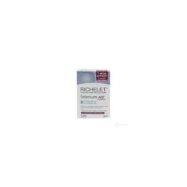 Selenium-ACE Optimum 50+  /90 comprimés + 30 comprimés OFFERTS à prix bas| Richelet
