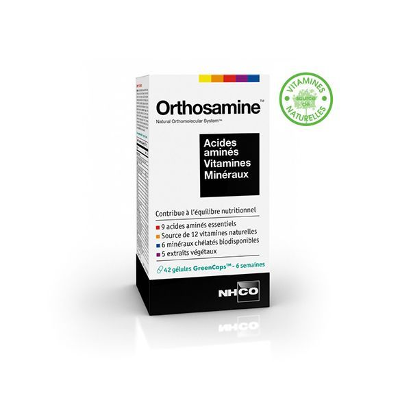 Orthosamine 42 gélules  moins cher| NH-CO