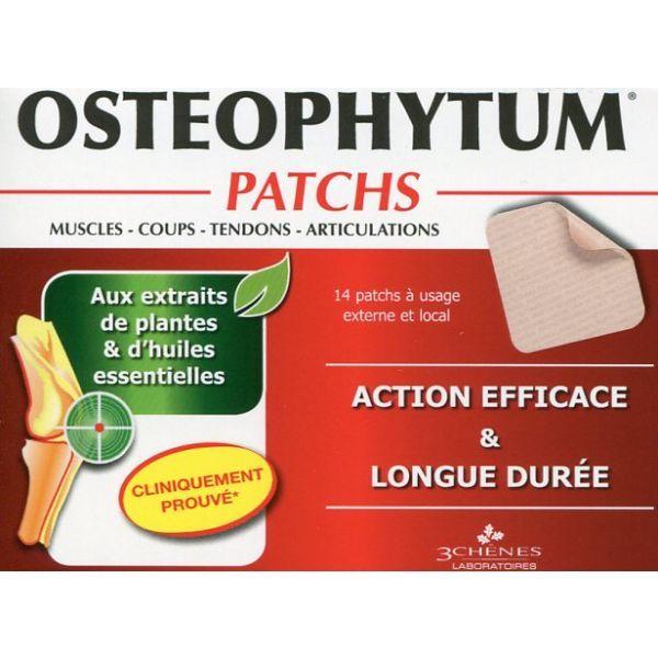 Osteophytum Patchs x14 moins cher| Les 3 Chênes