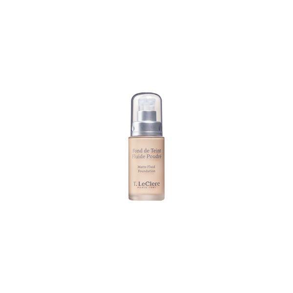 Fond de Teint Fluide Poudré SPF 15 02  Clair Rosé Mat moins cher| TLeclerc