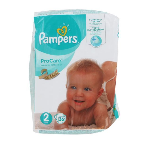 couches pampers pro taille 2 moins cher