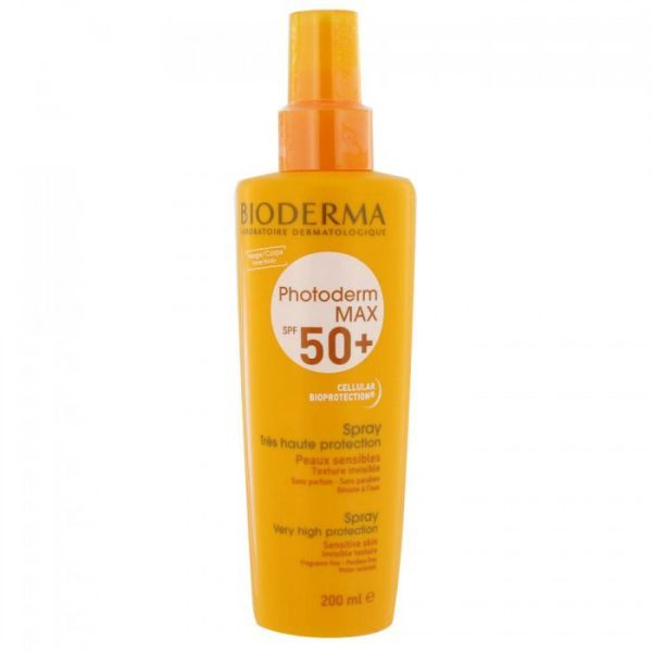 Photoderm MAX Spray Solaire SPF 50+ 200ml moins cher| Bioderma
