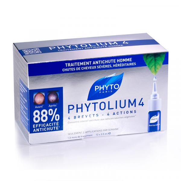 Phytolium 4 Traitement antichute Ampoules  12x3,5ml à prix bas| Phytosolba