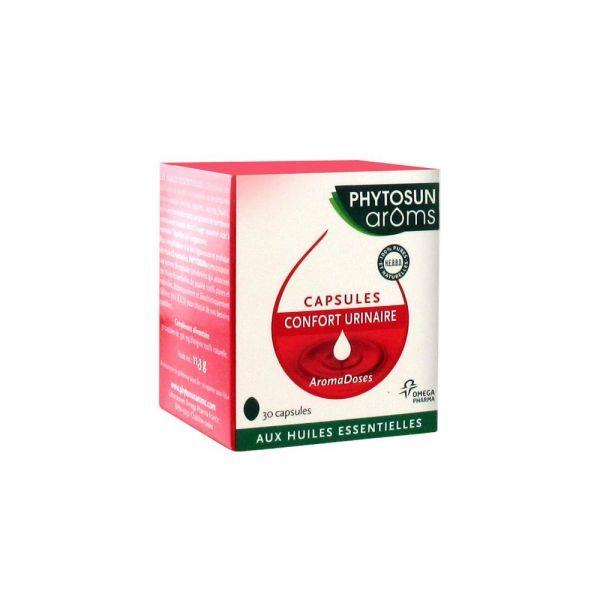 Aromadoses Confort Urinaire 30 capsules à prix discount| Phytosun