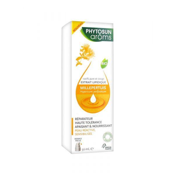 Huile Végétale Bio Millepertuis 50ml à prix bas| Phytosun