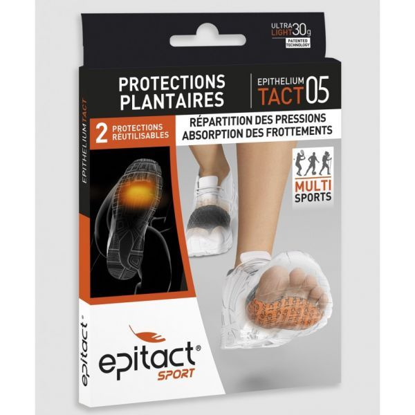 Sport Protections Plantaires X2 Taille L à prix discount| Epitact
