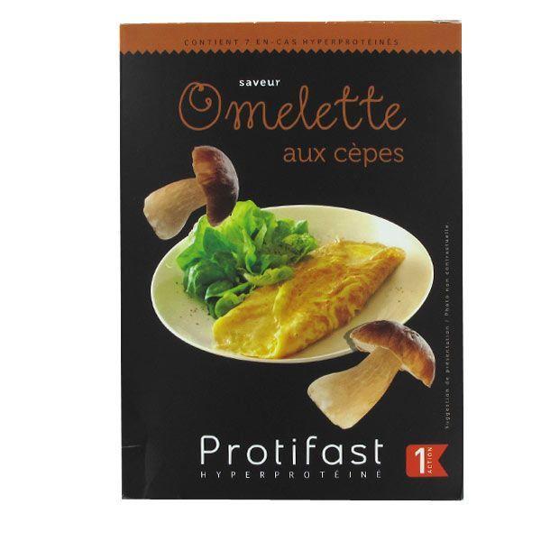 Omelette Cèpes Sans Gluten 7 Sachets au meilleur prix| Protifast