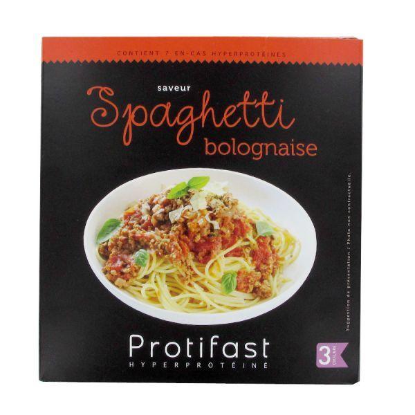 Spaghetti Bolognaise 7 Sachets à prix discount| Protifast