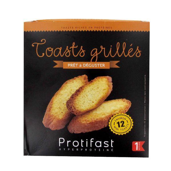 Toasts grillés Prêt à déguster12 unités moins cher  Protifast
