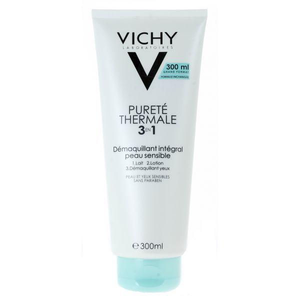 Pureté Thermale Démaquillant Intégral 3 en 1  300ml moins cher| Vichy