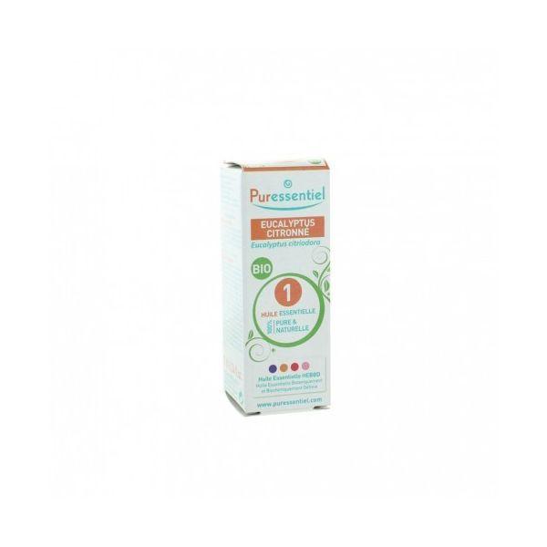 Huile Essentielle Bio Eucalyptus Citronné 10ml  à prix discount| Puressentiel