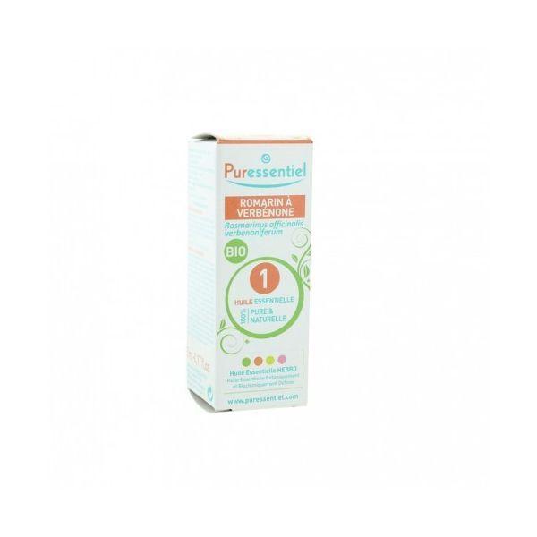 Huile Essentielle Bio Romarin à Verbénone 5ml  à prix bas| Puressentiel