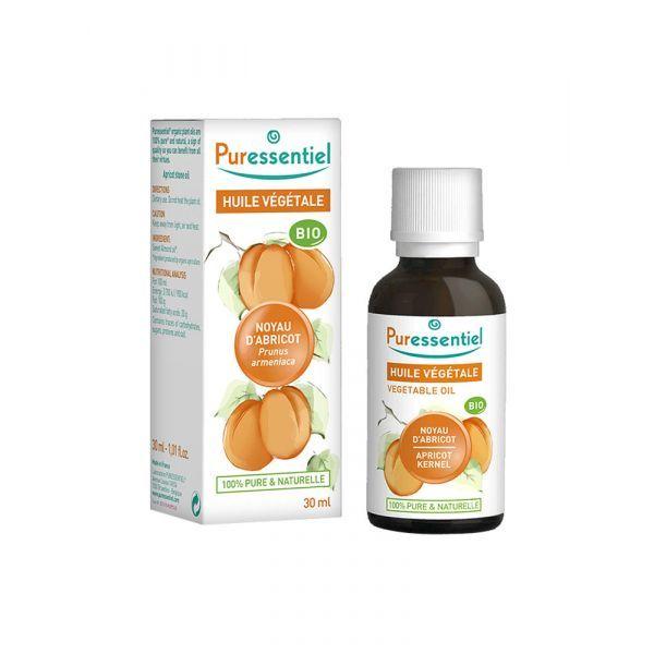 Huile Végétale Bio de Noyau d'Abricot 30ml  à prix bas| Puressentiel