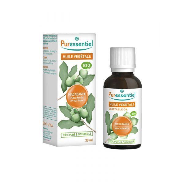Huile Végétale Bio de Macadamia 30ml  à prix discount| Puressentiel