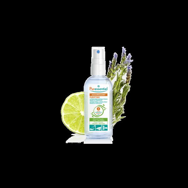 le Spray Antibactérien Mains et surfaces de Purressentiel au meilleur prix