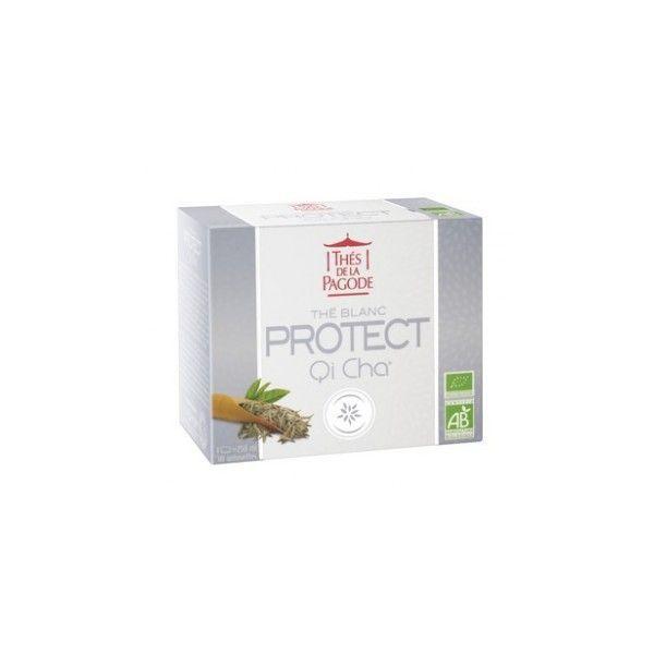 Thé Blanc Protect Qi Cha bio 30 sachets moins cher  Thés de la Pagode