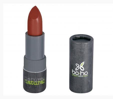 Rouge à lèvres mat transparent Coquelicot 307 moins cher  Boho