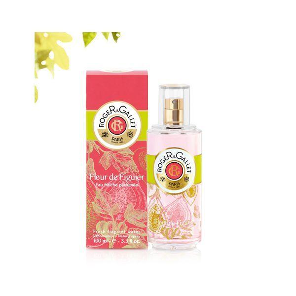 Fleur de Figuier Eau fraîche parfumée  spray 100 ml au meilleur prix  Roger&Gallet