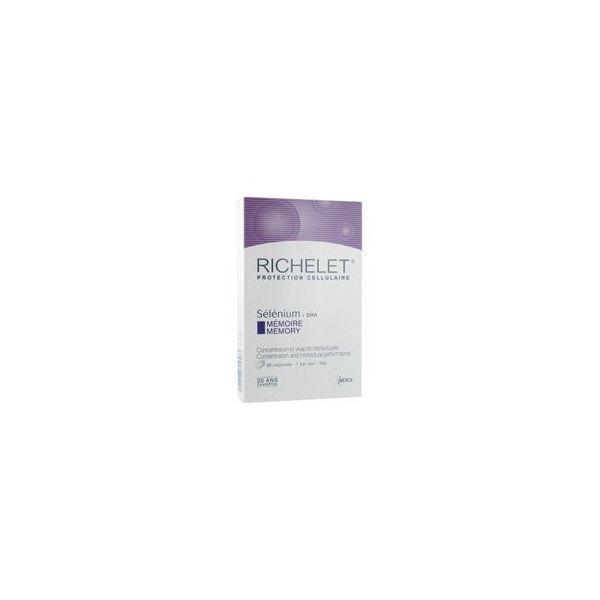 Sélénium + DHA Mémoire 30 capsules à prix bas  Richelet