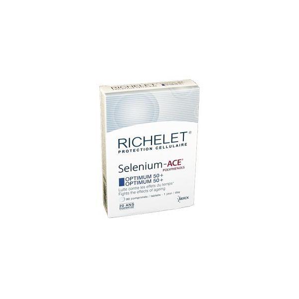 Selenium-ACE Optimum 50+  /30comprimés   moins cher| Richelet