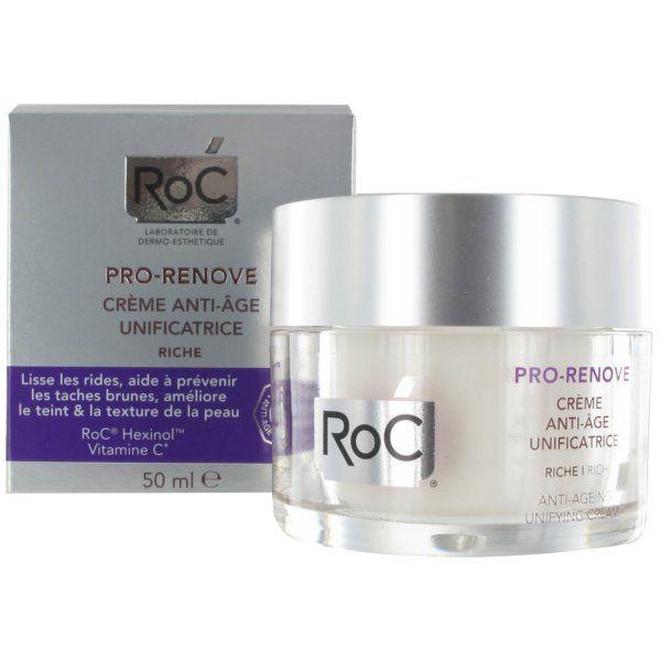Pro-Renove Crème riche anti-âge unificatrice 50ml moins cher| RoC