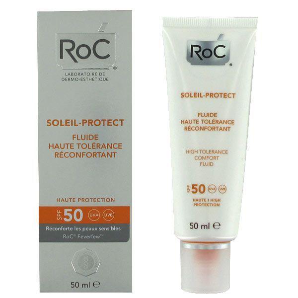 Soleil-Protect Fluide Haute Tolérance SPF50+ 50ml à prix bas  RoC