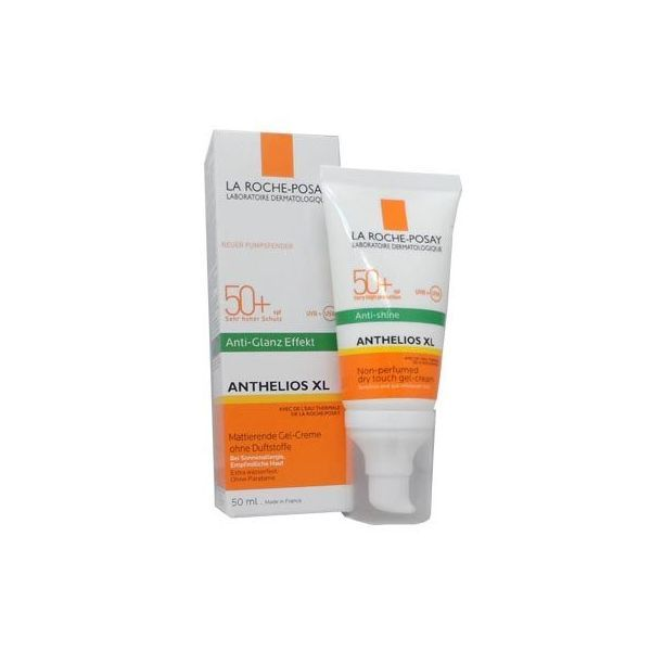 Anthelios XL Gel Crème Anti-brillance 50+ 50ml  au meilleur prix  La Roche Posay