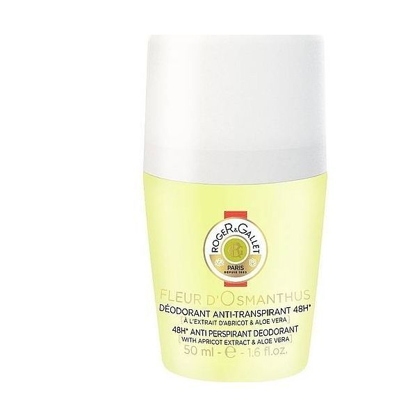 Déodorant Anti-transpirant Roll-on Fleur d'Osmanthus 50 ml moins cher| Roger&Gallet