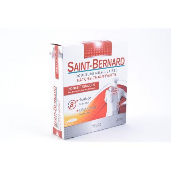 Patchs Chauffants Zones Etendues X2 moins cher| Saint Bernard