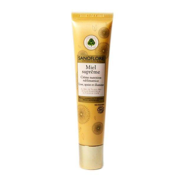 Miel Suprême Crème Nutritive Sublimatrice 40ml à prix discount| Sanoflore