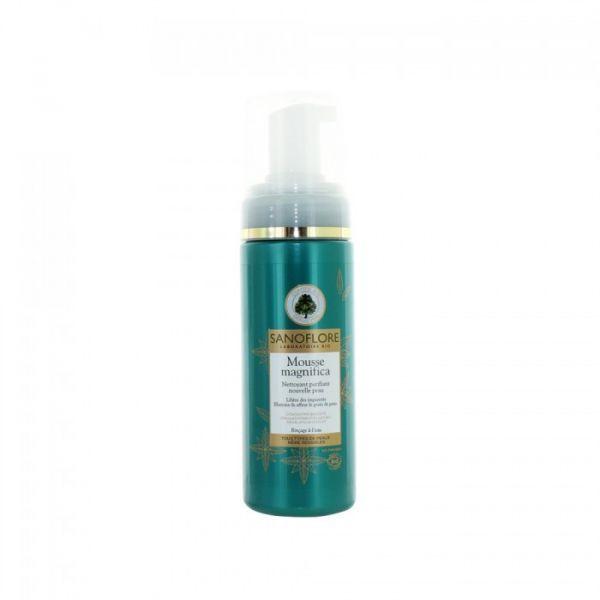 Magnifica Mousse Nettoyante Purifiante BIO 150ml moins cher| Sanoflore