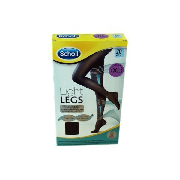 Collant Light Legs Noir 20 Deniers Taille XL au meilleur prix| Scholl