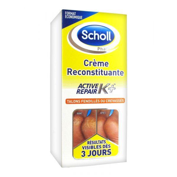 Contre les talons fendillés et crevassés Scholl Active repair K+