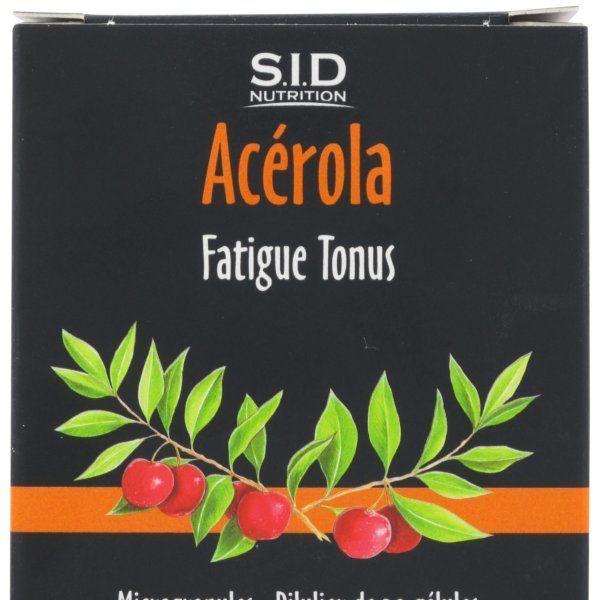 Acérola 30 Gélules moins cher| SID Nutrition