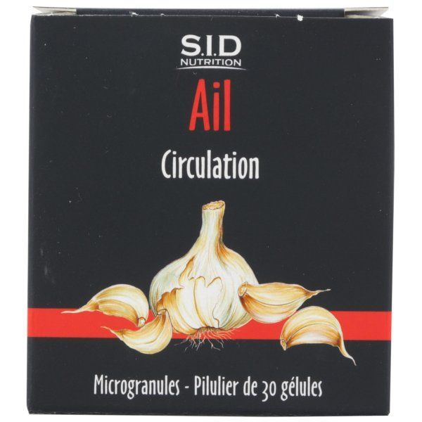 Ail 30 Gélules à prix discount| SID Nutrition