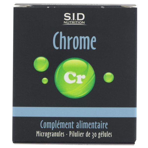 Chrome 30 Gélules à prix discount| SID Nutrition