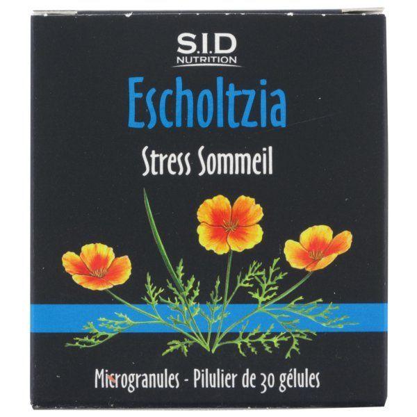 Escholtzia 30 Gélules moins cher  SID Nutrition