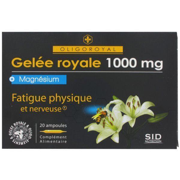 Gelée Royale+Magnésium moins cher| SID Nutrition