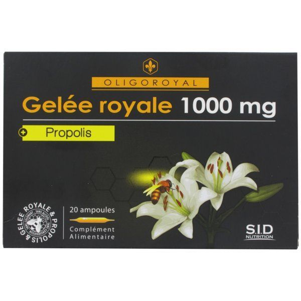 Gelée Royale+Propolis moins cher| SID Nutrition