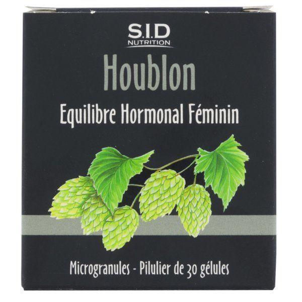 Houblon 30 Gélules à prix bas| SID Nutrition