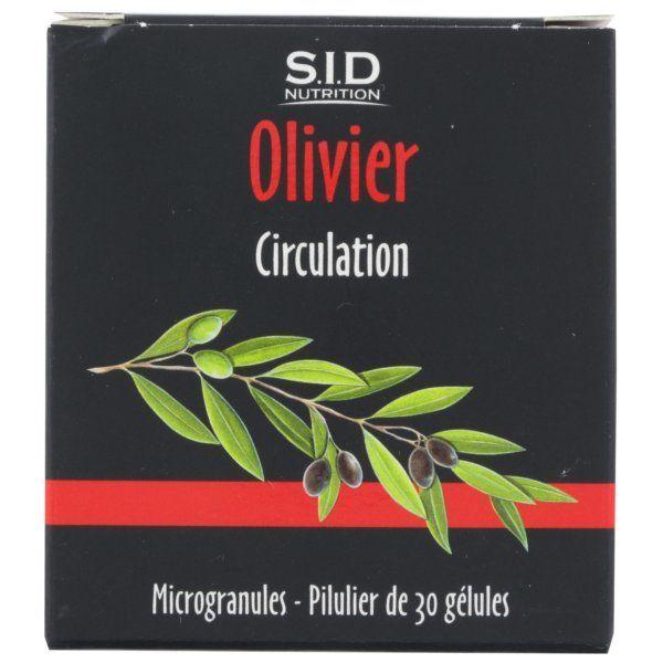 Olivier 30 Gélules à prix bas  SID Nutrition