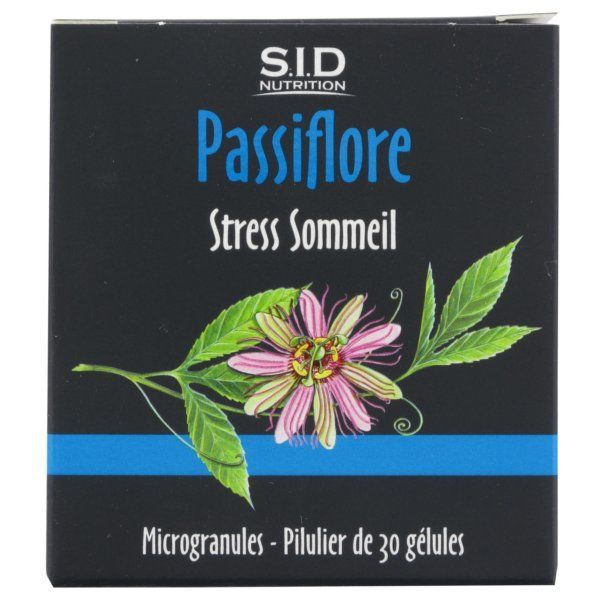 Passiflore 30 Gélules au meilleur prix| SID Nutrition